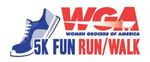 WGA 5K logo