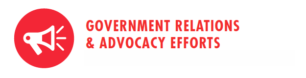 Government Relations & Advocacy Efforts