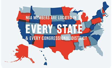 NGA Members are located in every state and every congressional district