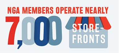 NGA Members operate nearly 7,000 store fronts