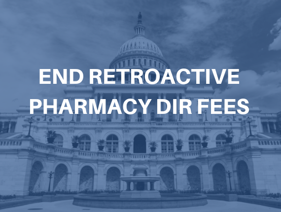 End Retroactive Pharmacy DIR Fees
