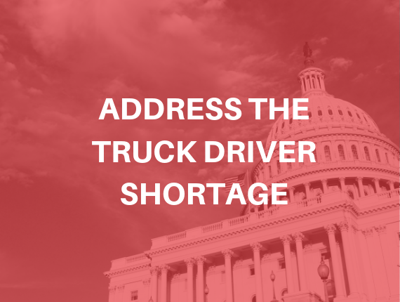 Address the Truck Driver Shortage